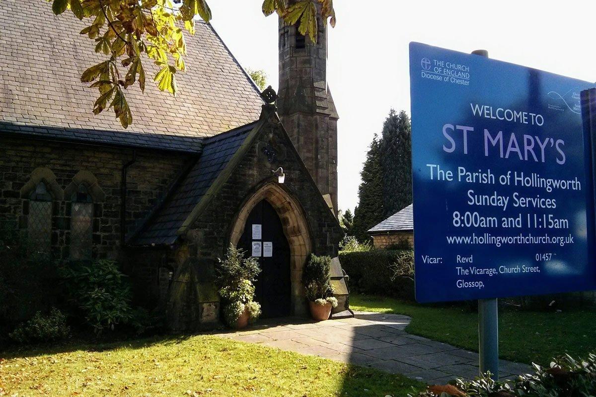 St Mary's Hollingworth