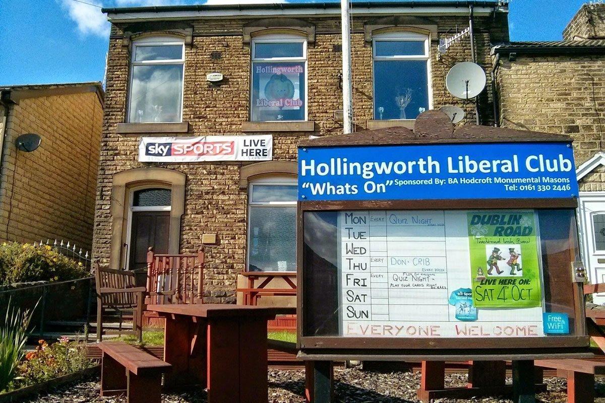 Hollingworth Liberal Club