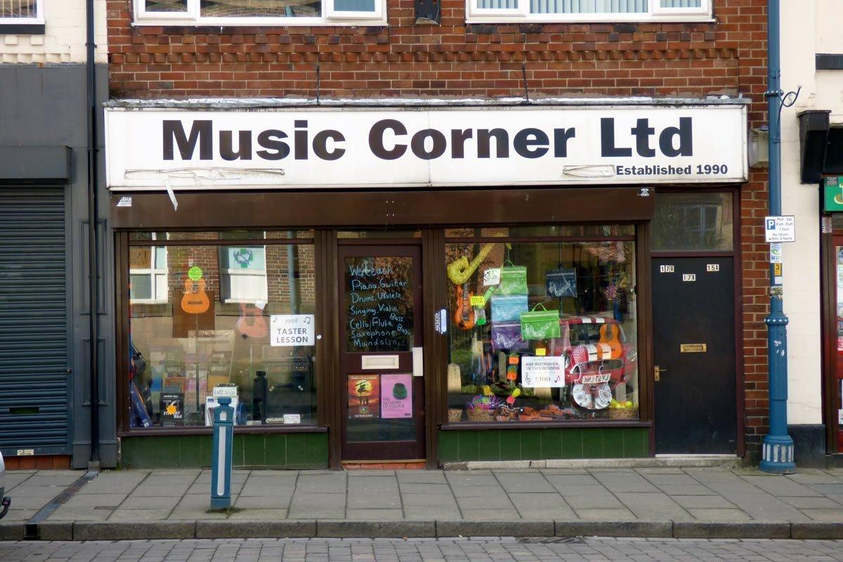 Music Corner Hub